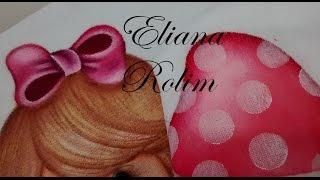 Como pintar fraldas sem riscar – Eliana Rolim