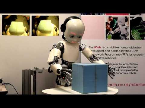 Aquila running mutiple time-scales recurrent neural network on iCub humanoid robot