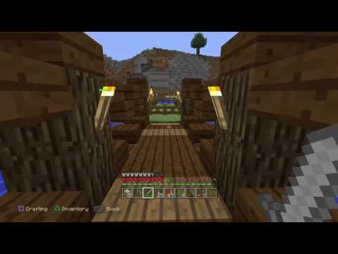 Let's Try Minecraft Episode 3 Ps4