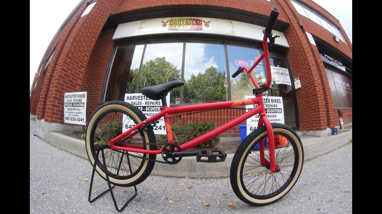 2014 Verde Vex BMX Unboxing @ Harvester Bikes - YouTube