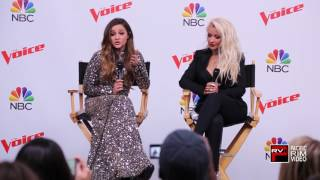 Christina Aguilera glad Alisan Porter chose her as her coach on The Voice