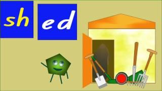 """Easy blends: """"sh"""" words"""