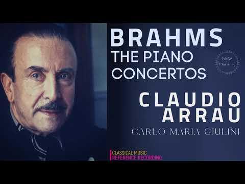 Brahms - Piano Concertos Nos.1,2 / NEW MASTERING (ref.record.: Claudio Arrau, Carlo Maria Giulini)