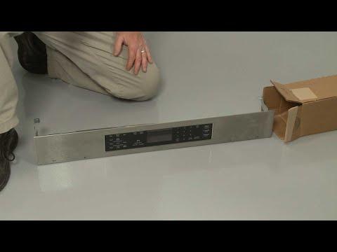 Control Panel - Kitchenaid Electric Slide-In Range Model #KSEB900ESS2