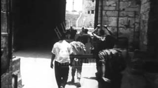 Jerusalem Census after the Six Day War, 1967.  Archive film 93640