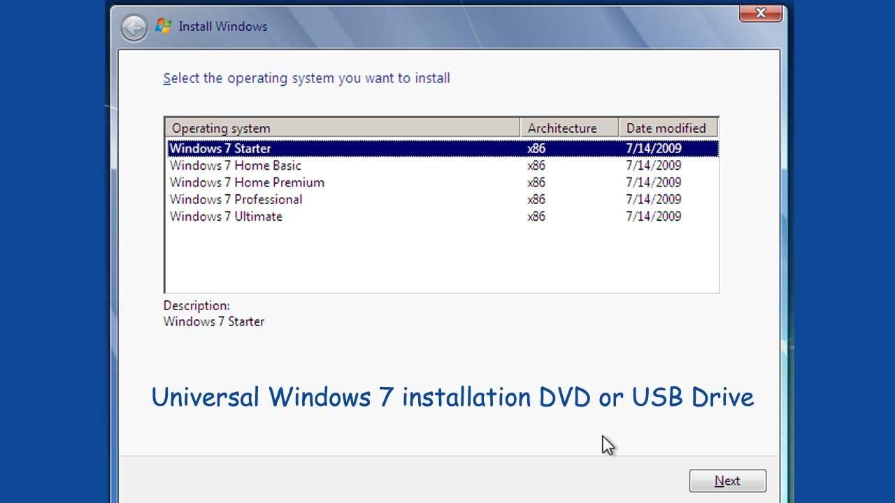windows 7 professional iso download usb