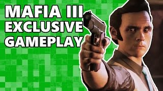 MAFIA 3 Exclusive Gameplay   Do the Crocodiles Bite?