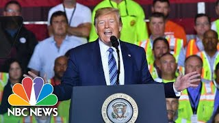 Donald Trump: Being The President Is 'Costing Me A Fortune' | NBC News