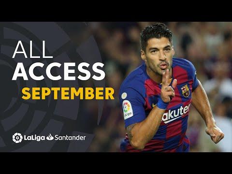 All Access LaLiga Santander Septiembre