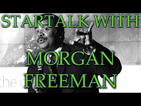 Neil deGrasse Tyson & Morgan Freeman