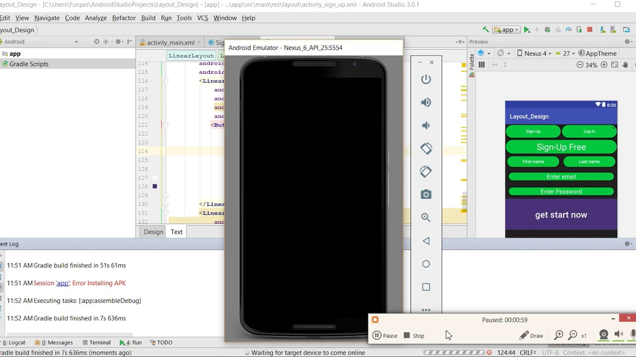 How to fix Session app error installing apk