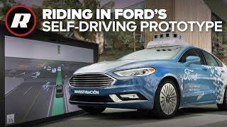 Touring Miami in Ford's prototype driverless car