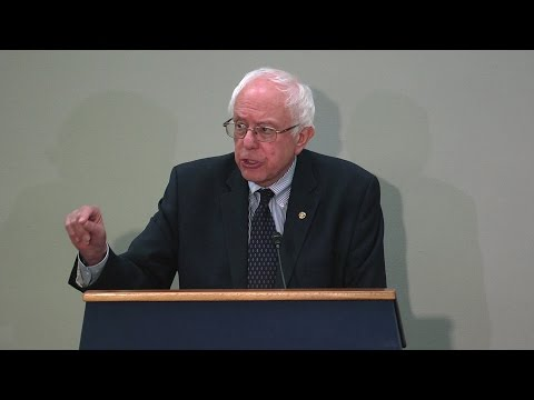 Sen. Bernie Sanders: From Greece to Puerto Rico, the Financial Rules Are Rigged to Favor the 1%