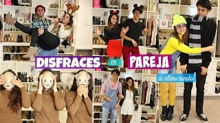 DISFRACES EN PAREJA de ÚLTIMO MINUTO! | What The Chic