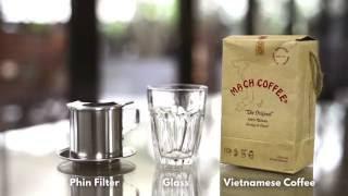 How to brew Vietnam coffee (Vietnam Phin) | 越南咖啡沖調方法