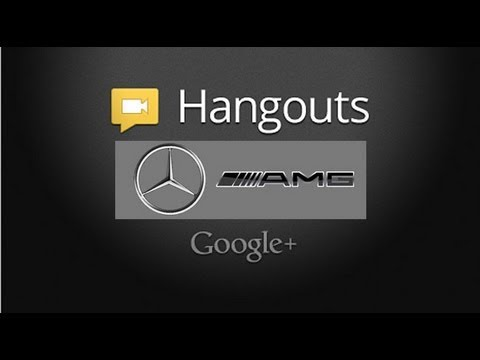 Discussing Mercedes-Benz, AMG, And The Future: Google+ Hangout Video