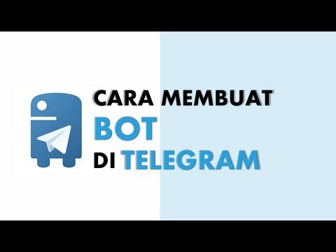 Cara Mudah Dan Cepat Membuat Bot (chatbot) Di Telegram