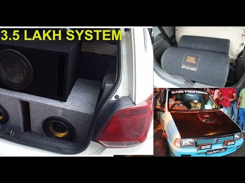 Bass Battle - Delhi's Loudest Car Sound System | American Bass | Pioneer | Rockford | SHAKEDOWN 2017