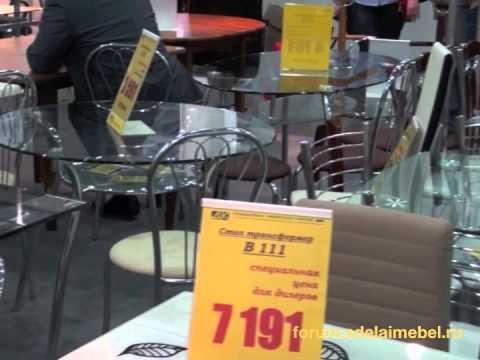 Цены на стеклянные столы