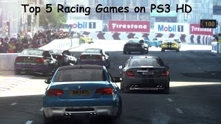 Top 5 Racing Games on PS3 HD