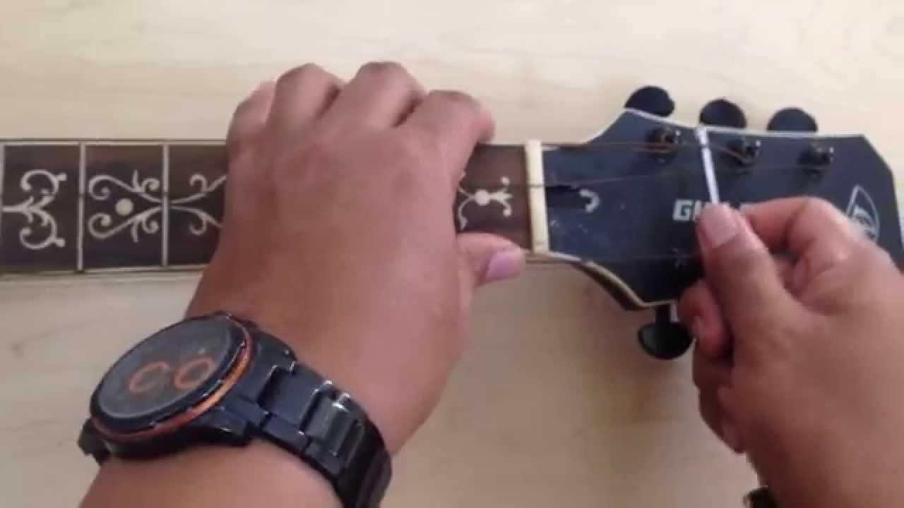 Memperbaiki Neck Gitar Bengkok Dengan Mudah Dan Simple Dan Cepat