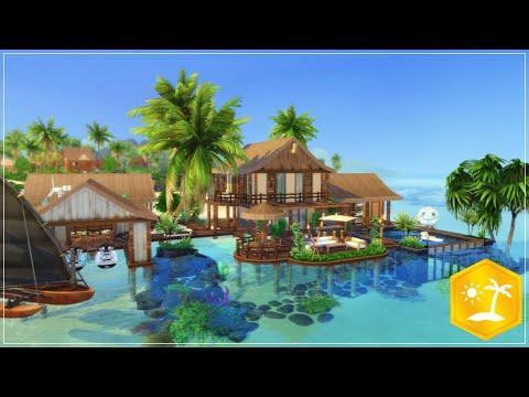 sulani-familien-strandhaus-☀️-die-sims-4---speedbuild