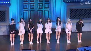 190923 러블리즈(Lovelyz) 직캠(Fancam) 풀버전(Full Version) @Once upon…