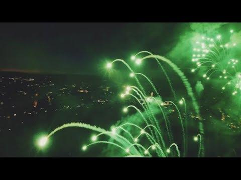 Corey Klug - Fireworks From A Drone's Perspective