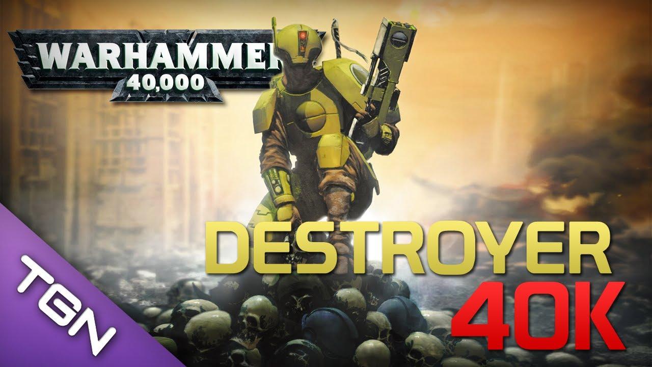 Mod Library : Best Warhammer 40k 2 Mod - Destroyer 40k