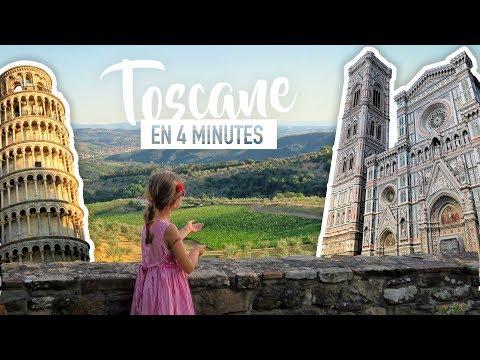 Visiter La TOSCANE En 4 Minutes [BEST-OF En FAMILLE]