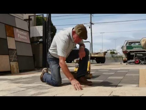 How to lay Premier Hydropavers™ permeable ceramic pavers