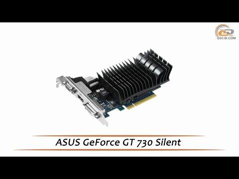 ASUS GeForce GT 730 Silent - обзор видеокарты