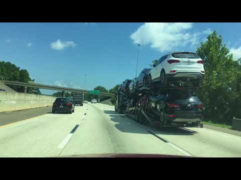 🔴 800 км 🔴 from Jacksonville Fl to Cary North Carolina -  СРАВНЕНИЕ с Флоридой 15.08.2017