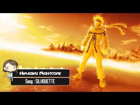 Nightcore - SILHOUETTE [Naruto OP16]