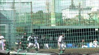 2011年3月6日(日) 春期教育リーグ 巨人対ロッテ(inロッテ浦和球場) 六回表...