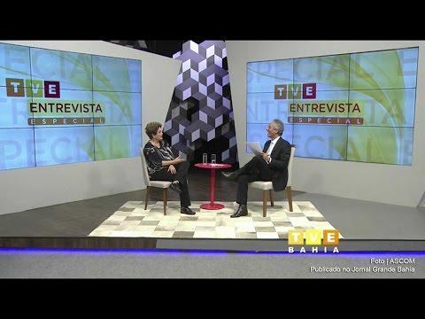 Ex-presidente Dilma Rousseff é entrevistada por Bob Fernandes na TVE Bahia