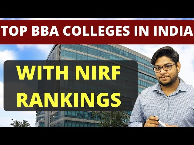Top bba colleges in India According to NIRF RANKINGS Complete Details
