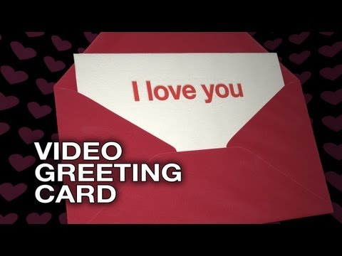 I Love You Ditto - Video Greeting Card - Love