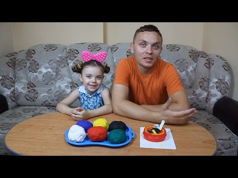 Cum se prepară Play-Doh (plastilina) acasă. How to Prepare Play-Doh home.