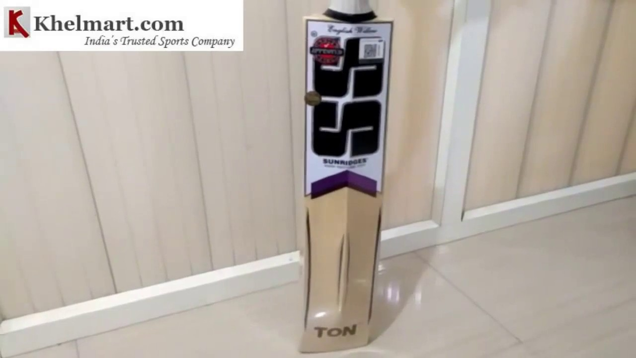 8067373bcf1 Review of SS Master 7000 Cricket Bat - YouTube