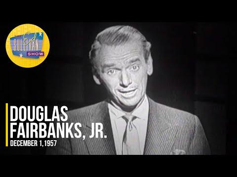 "Douglas Fairbanks, Jr. Reciting ""If"" By Rudyard Kipling on The Ed Sullivan Show"