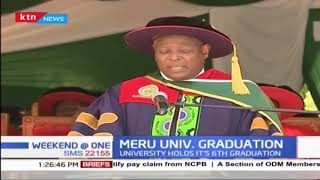 Meru University holds 6th graduation ceremony as students encouraged to create jobs