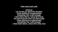 """Yung Bleu """"Unappreciated"""" Lyrics"""