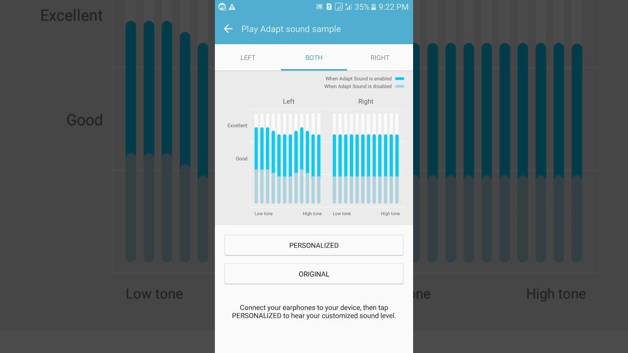 Samsung's SoundAlive: Adapt Sound (MARSHMALLOW)