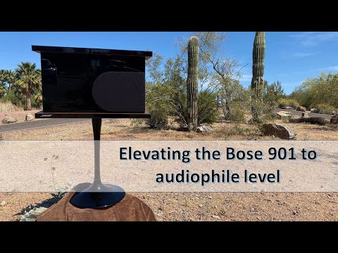Subscriber Joe's BOSE 901 System,  Room Tour.
