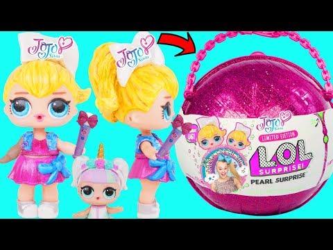 JOJO Unicorn Custom LOL Surprise Doll + Lil Luxe Boy