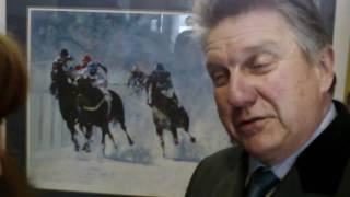 Eliza Interviews Trainer Milton Harris About His Cheltenham Runner And Upcoming Raid On St.moritz!