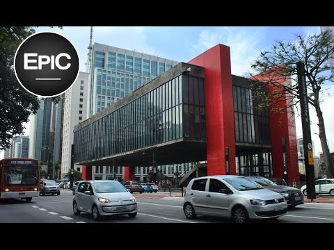 Paulista Avenue - São Paulo, Brazil / Avenida Paulista - San Pablo, Brasil (HD)