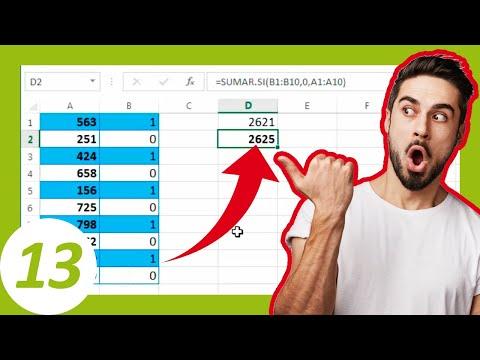 Sumando filas alternas | Excel Vídeo Tip # 13