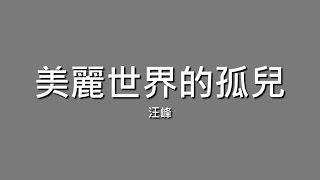 汪峰 / 美麗世界的孤兒【歌詞】